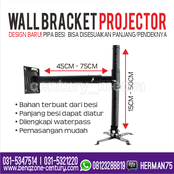 Wall Bracket Projector