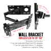 "Wall Bracket Monitor / TV 19""- 50"" - Adjustable"